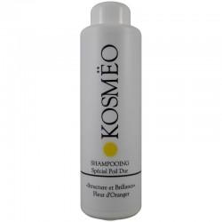 Après Shampooing Gel couleur Blanc pour chien et chat - antistatique, gainant et démêlant il ravive la couleur - Kosmeo