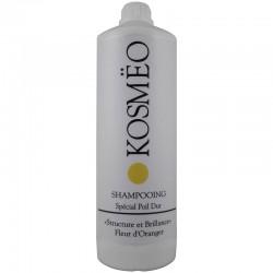 Après Shampooing : Gel couleur Blanc