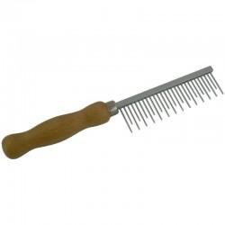 Peigne pour mue extra Large - dents de 3cm - éliminer le poil mort - pour chien