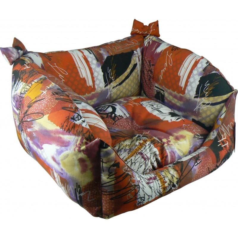 lit pour chien, couchage petit chien, corbeille pour chien, dodo pour chat
