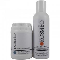 DUO 4 gel anti-noeud + Douceur et Soyance - Pour chiots, chatons et peaux très sensibles